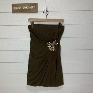 NWT Forever 21 Strapless Dress Size Small